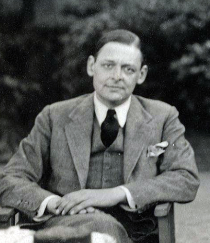 T S Eliot by Lady Oacttoline Morrell 1934