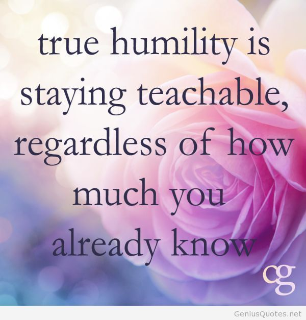 quote on true humility