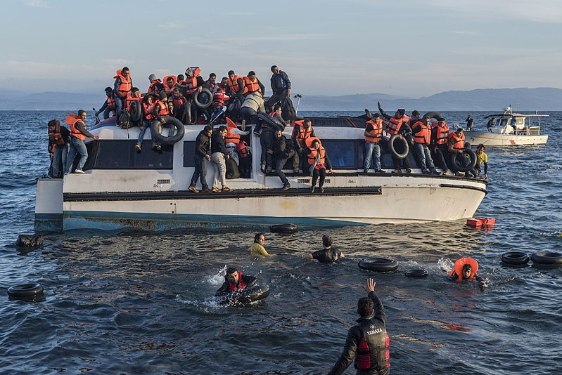 kindness - refugees arrive by boat